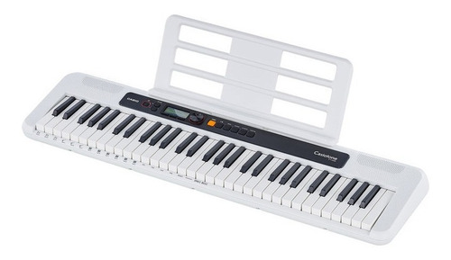 kit teclado casio tone ct-s200 musical 61 teclas usb rosa