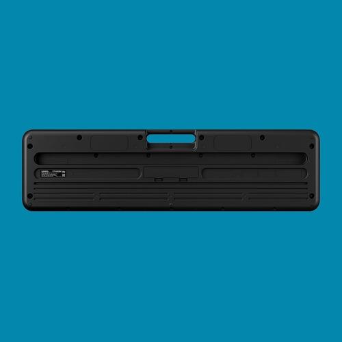 kit teclado casio tone ct-s200 musical 61 teclas x10 + pedal