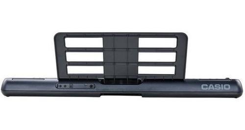 kit teclado casio tone ct-s300 musical usb 61 teclas pedal