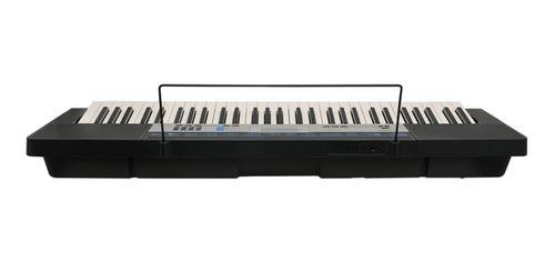kit teclado digital arranjador 61 ctk-1550 casio com suporte
