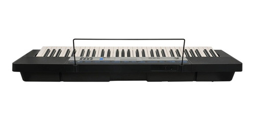 kit teclado digital musical 61 ctk-1550 casio com capa