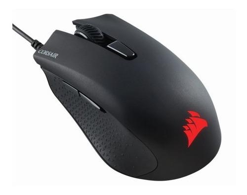 kit teclado e mouse gamer corsair k55 rgb + harpoon rgb