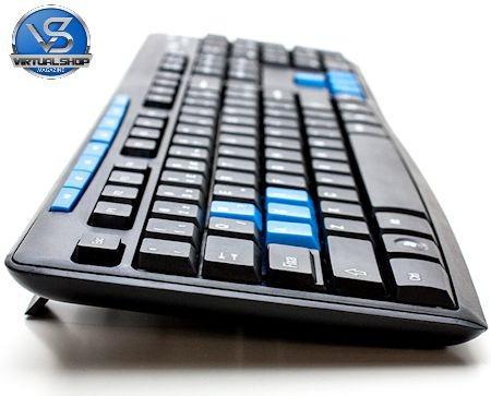 kit teclado e mouse gamer sem fio 1000dpi wireless 10 mt 2.4