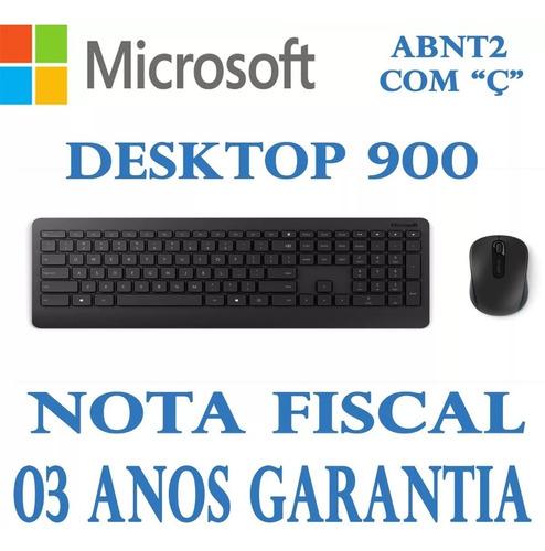 kit teclado e mouse microsoft wireless desktop 900 pt3-00005