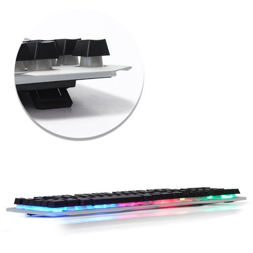 kit teclado mouse gamer iluminado fone headset 7.1 surround