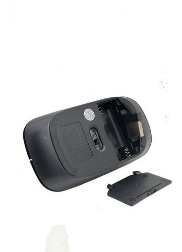 kit teclado mouse gamer sem fio wireless 2.4ghz 3200dpi usb