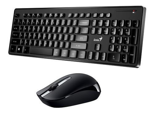 kit teclado + mouse inalambrico genius 8006 combo smart tv