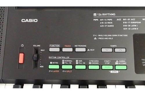 kit teclado musical 61 teclas ctk-3400 casio completo