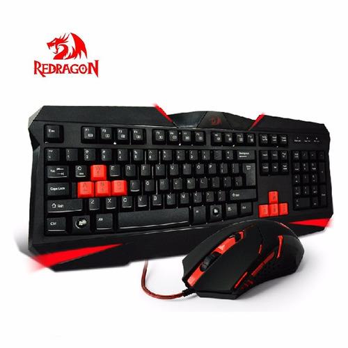 kit teclado y mouse gamer redragon s101 envio sin cargo!!