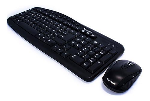 kit teclado y mouse inalambrico vorago km-303 multimedia
