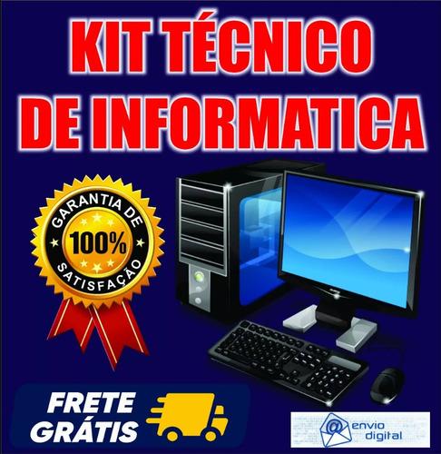 kit técnico de informática 23 dvd´s / envio digital imediato