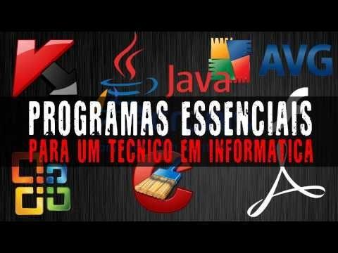 kit técnico informática programas