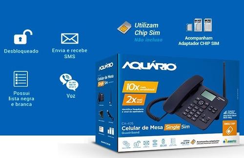 kit telefone celular rural mesa aquário desbloqueado