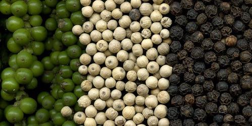 kit tempero pimenta do reino branca (50g) e preta (50g)