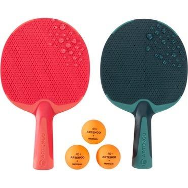 Kit Tenis De Mesa-ping Pong 2 Raquetes 3 Bolinhas Ar Livre - R  119 ... 1711b381f6cdb
