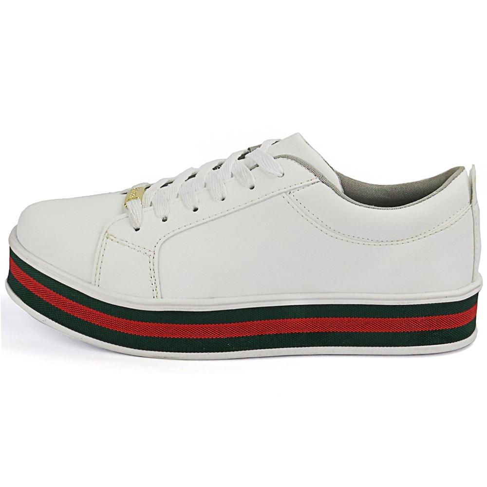 b042e84c4 kit tenis sapatenis feminino flatform branco e preto verniz. Carregando  zoom.