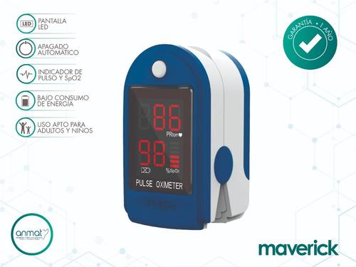 kit tensiómetro digital + oxímetro maverick envío gratis