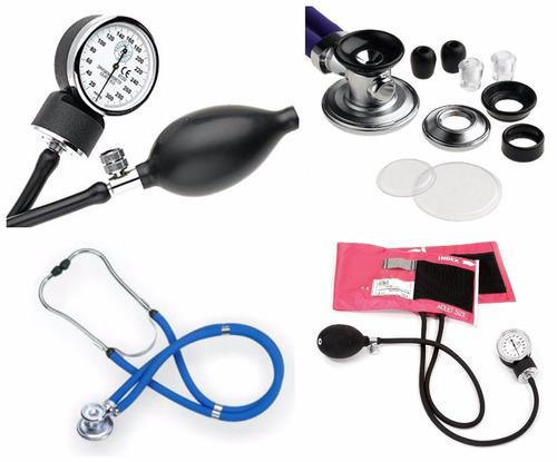 kit tensiometro y fonendoscopio + ebook basico de enfermeria