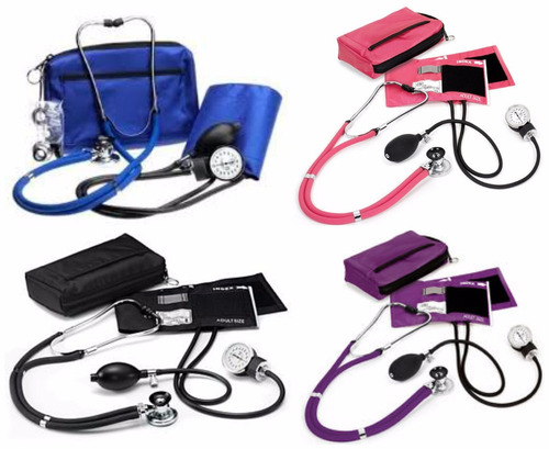kit tensiometro y fonendoscopio+ libro digital de enfermeria