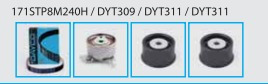 kit tensor/ correia dentada gm vectra 2.4 16v  06/09
