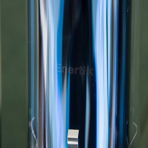 kit termotanque solar inoxidable 150 l + accesorios enertik