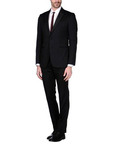 kit terno slim fit + camisa + gravata preta