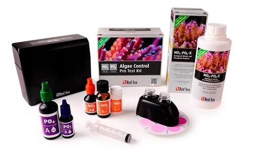 kit teste nitrato e fosfato red sea algae control (no3/po4)