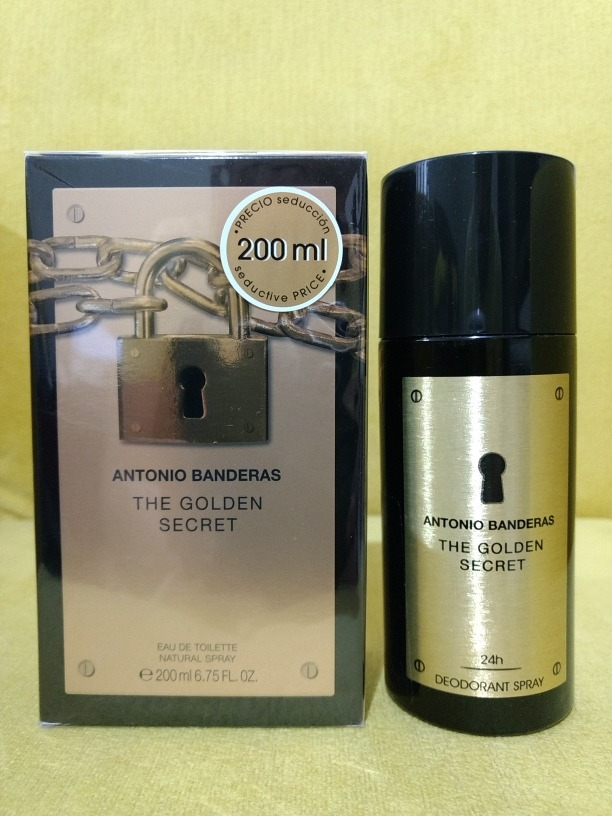 45ce679830 kit the golden secret 200ml + desodorante 150ml. Carregando zoom.