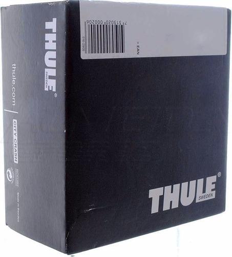 kit thule 1538 nissan sentra e outros suporte de barras