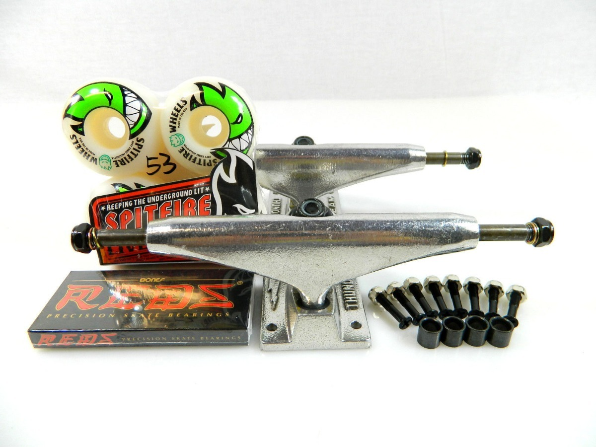 87c4e84879 Kit Thunder Trucks 147mm + Spitfire 53mm + Reds Bearings - R$ 699,00 ...