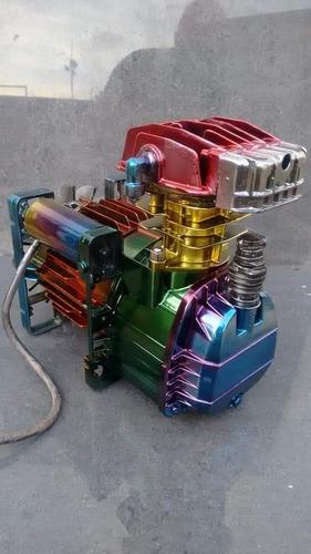 kit tinta cromo efeito titanium 750ml + 3 candys  roda moto