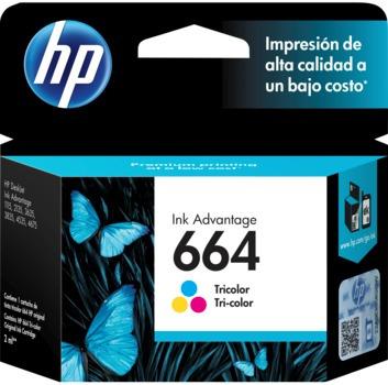 kit tinta hp 664 (3 pzas) originales deskjet 2135 3635 3835