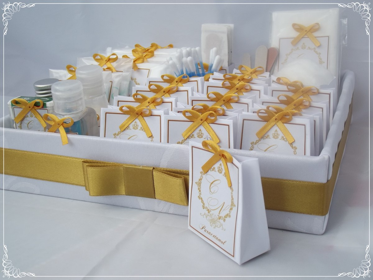 Kit Para Banheiro No Casamento : Kit toilette petit banheiro para casamento r em