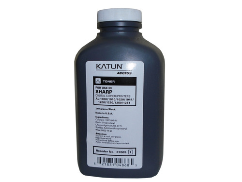kit toner 1 chip1  marca katun sharp al 2031/ 2041/ 2051