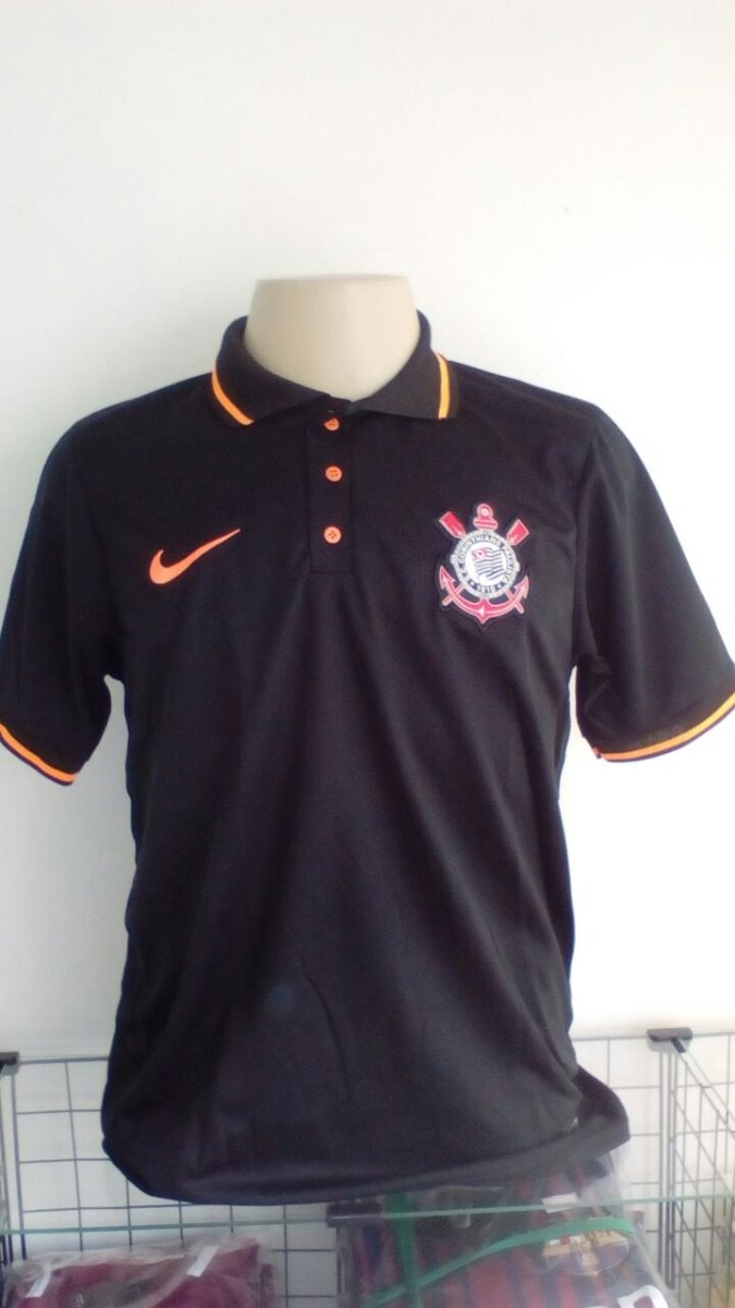 kit torcedor corinthians 1 camisa polo + 1 bone. Carregando zoom. 720557c94a640