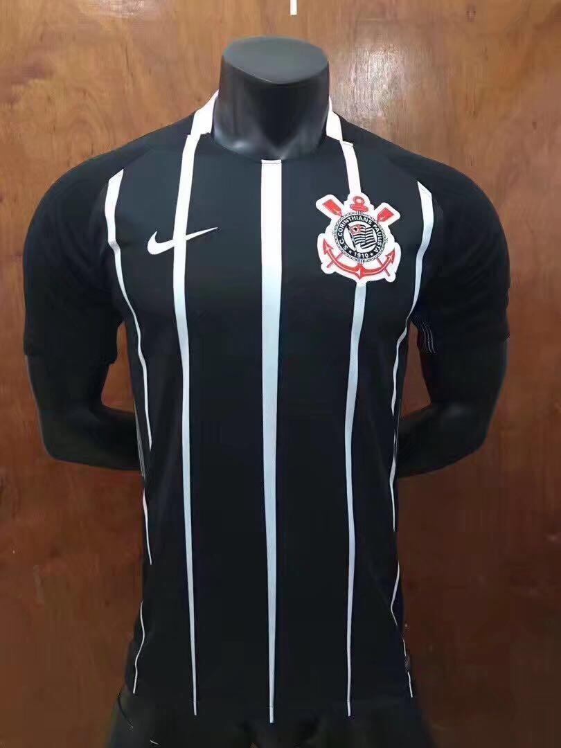 kit torcedor corinthians 1 camisa preta + 1 bone. Carregando zoom. a606eba7f27f0