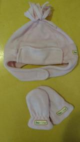 92122a558aaef6 Kit Touca E Luva Bebe Paraiso - Roupas de Bebê, Usado no Mercado ...