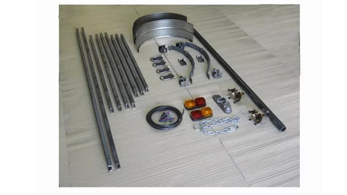kit trailer eje chasis upn 2 x 1,3  kit cuotas sin interes a