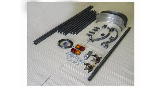 kit trailer eje chasis upn 2 x 1,5 cuotas sin interes b