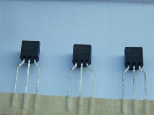 kit transistor j201 100 pecas