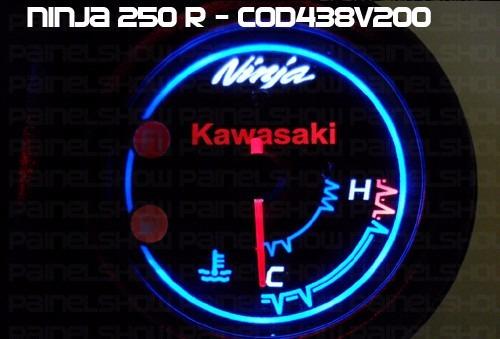kit translúcido p/ painel - cod438v200 - kawasaki ninja 250r