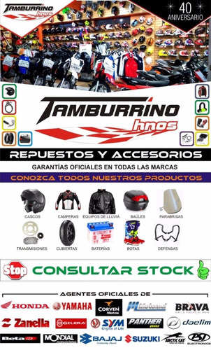 kit transmision did honda cg 150 titán - tamburrino hnos
