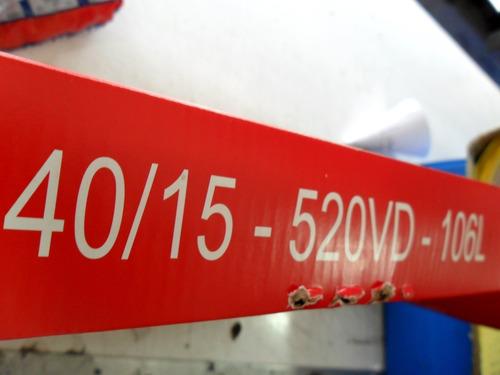 kit transmision hamp honda nx400 falcon c oring centro motos