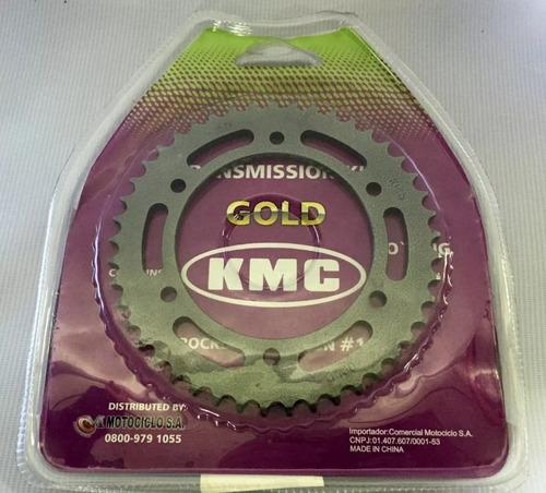 kit transmissão relação kmc com retentor ys fazer 250 05 17