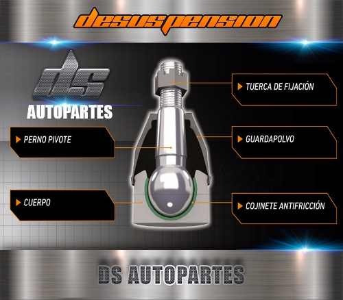 kit tren delantero f100 f150 93/98 + 4 rotulas ds