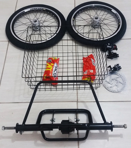 kit triciclo para bike completo com marchas dream bike