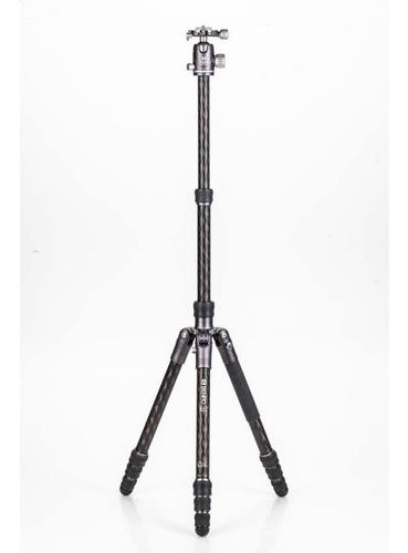 kit tripé benro bat fibra de carbono fbat24cvx25 1,77m 16kg