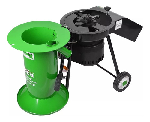 kit triturador orgânico tr200 + caixa de compostagem trapp