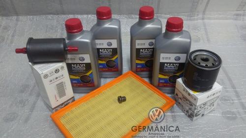 kit troca de oleo 508 original vw gol g4 g5 voyage motor 1.0