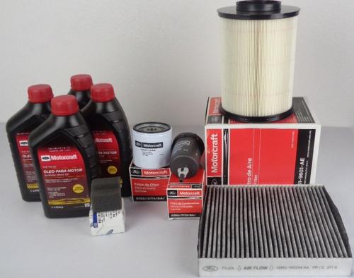 kit troca de óleo e filtros ford focus 2009 a 2013